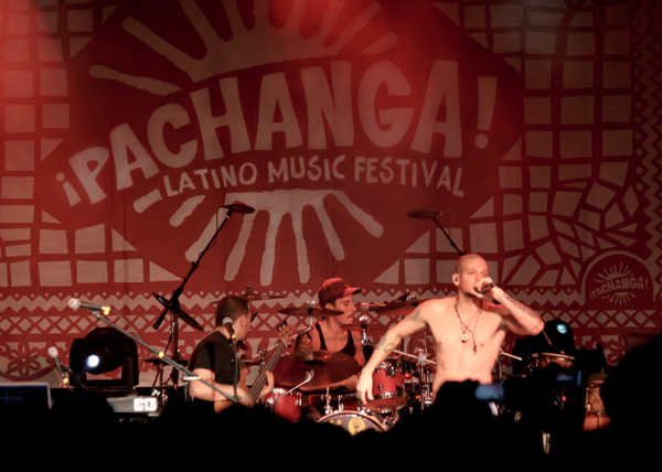 Calle13 Pachanga Fest 2012