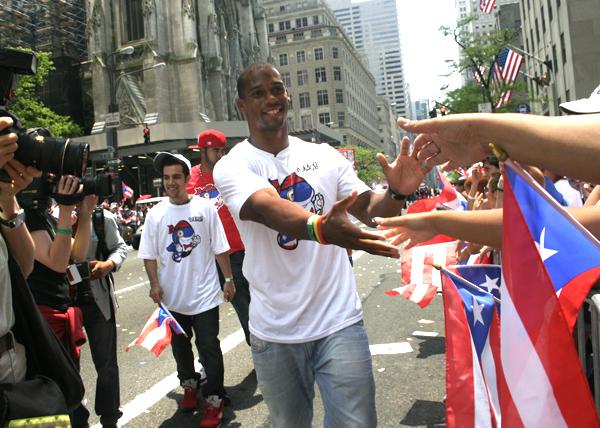 Victor Cruz - Puerto Rican Parade