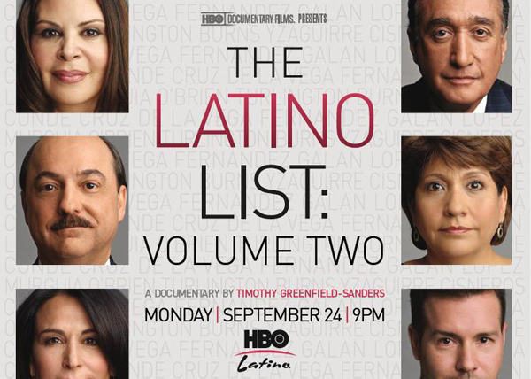 Win THE LATINO LIST: VOLUME TWO NY Premiere Passes!