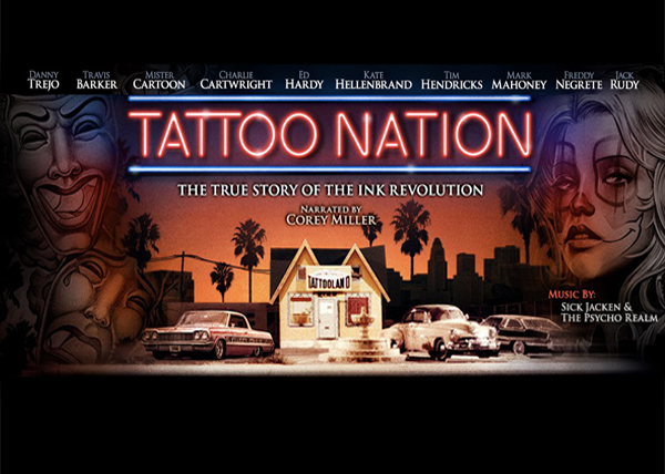 TATTOO NATION – DVD and Stream Available May 9th