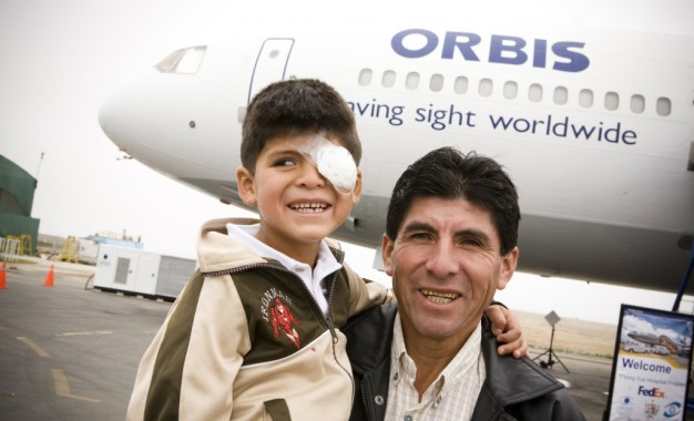 Print: Omega Helps Orbis Treat Blindness in Peru